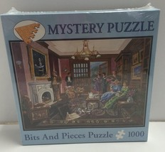 Mystery Bits And Pieces Puzzle Murder At Bedford Manor Gene Dieckhoner NIB - $12.37