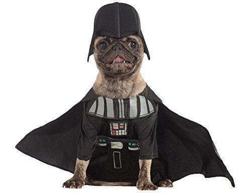 Rubies Star Wars Darth Vader Skywalker Halloween Costume Pet Dog 887852