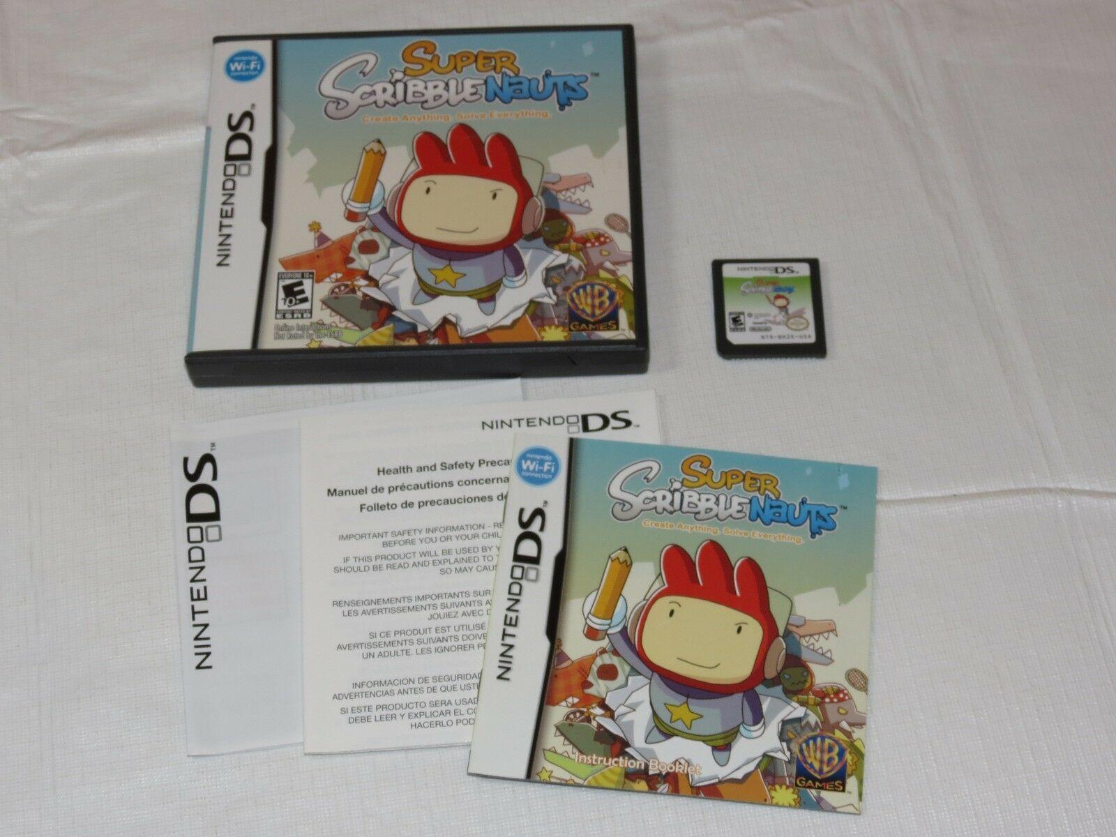 Super Scribblenauts Nintendo DS 2010 E10 +Everyone 10+NTR-BH2E-USA D'Occasion