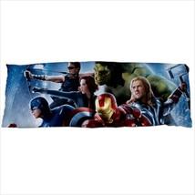 dakimakura body hugging pillow case avengers endgame captain hulk iron man - $36.00