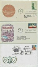 Verrazano Narrows Bridge and a Erie Canal FDC + other - $9.00
