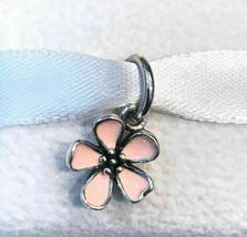 Cherry Blossom Pendant Authentic Pandora Sterling Silver Charm 390347EN40 - $20.56