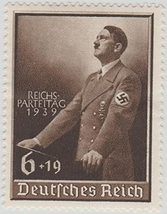 1939 Hitler Day of National Labor Germany Postage Stamp Catalog B140 MNH