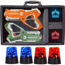 DYNASTY TOYS Camping Games - Laser Tag - Capture the Flag Complete Set. ... - $127.95