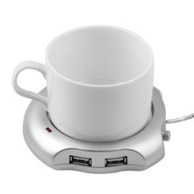 Electric USB Tea Coffee Cup Mug Warmer Heater Pad Chocolate Insulation C... - €4,14 EUR