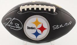 Hines Ward Signed Full Size Steelers Football SB XL Inscription TSE Signing - $168.29