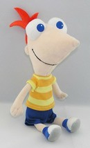 "Disney Store Phineas Flynn 10"" Stuffed Plush Doll RARE ~ HTF - $19.79"