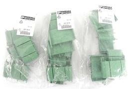 LOT OF 26 NEW PHOENIX CONTACT UMK-BE45 PC BOARD BASE 3X1-3/4IN, 2970015