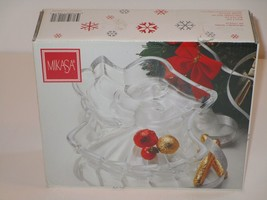 Mikasa Heavenly Song Angel Clear Glass Crystal Candy Bowl - $8.99