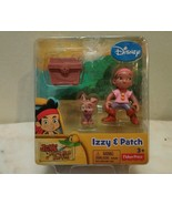 Disney Jake's Neverland Izzy & Patch New in package 3+ Fisher Price - $12.99