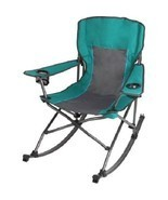 Rocking Camping Chair Beach Seat Garden Porch P... - $59.39