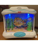 Fisher Price Ocean Wonders Aquarium Crib Soother With Music Lights & Sounds 2007 - $24.62
