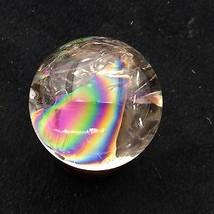 """2.14"""" Clear Rainbow Natural Quartz Crystal Sphere Ball Healing 216g  - $133.65"""