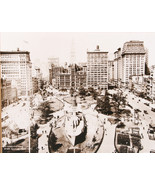 Union Square NY 1919 Men Wanted U.S. Navy 8x10 Matted Wood Framed Print ... - $48.94