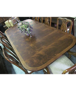 Drexel Heritage Staffordshire Rectangular Cherry & Mahogany Dining Table - $1,999.00