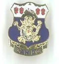 Army 15TH Infantry Regiment Can Do Crest Pin - $9.02