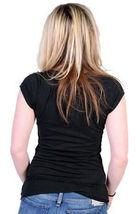 Cardboard Robot Femmes Noir II T-Shirt Nwt image 4