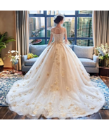 Luxury / Gorgeous Ivory Wedding Dresses 2018 Ball Gown - $906.00