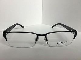 New Ralph Lauren PH 5211 1991 Semi-Rimless Black 54mm Men's Eyeglasses F... - $99.99