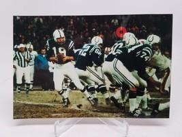 Johnny Unitas Baltimore Colts Vintage Game Photo Rare - $9.89