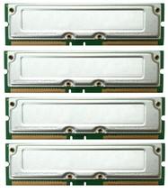 Dell Dimension 8100 8200 1 Go 4x256mb Rdram Rambus Kit Mémoire Testé - $45.83