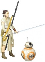Star Wars The Black Series 6-Inch Rey (Jakku) and BB-8  - $41.69