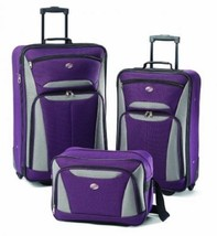 Large Luggage Set For Men Women Rolling Cart Travelling Suitcase Carry O... - $94.07