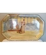 Antique Royal Doulton Shakespeare Series KATHARINE (of Aragon) Octagonal... - $16.95