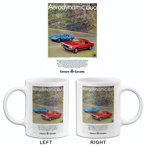 Primary image for 1968 Chevrolet Camaro SS & Corvette - Aerodynamic Duo - Promotional Advertising