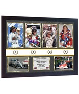 Lewis Hamilton Graham Hill Jackie Stewart James Hunt signed photo poster... - $21.59