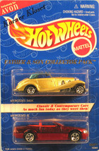 "Mattel Hot Wheels ""Father & Son"" Collector Pack - Mercedes 2 Cars - Avon... - $10.22"