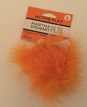 Kong Active Toy Catnip Halloween Round Furry Orange Owl - $5.89