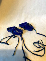 Ideal Crissy Doll Clogs Royal Blue with Elastic Ties Vintage Kerry Tress... - $19.99