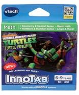 VTech InnoTab Software, Teenage Mutant Ninja Turtles Teach MATH SCIENCE new - $9.96