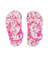 NEW Baby or Toddler Disney Minnie Mouse Flip Flops Size 5/6 7/8 or 9/10 - £9.65 GBP