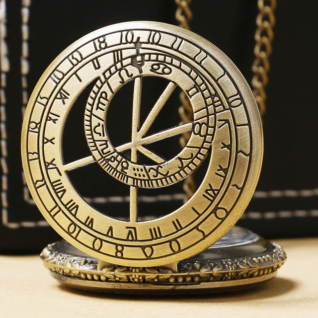Used, The Prague Vintage Pocket Watches For Men Women for sale  USA