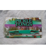 Pickle Tongs New Green Plastic Great for Pickles, Olives, Hot Peppers - $5.93