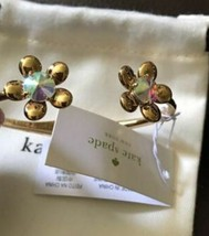 KATE SPADE NEW YORK SUNSET BLOOMS IRIDESCENT FLOWER HINGE CUFF BRACELET - $45.00