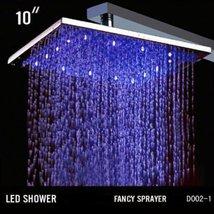 Cascada Ceiling Mount Rainfall LED Shower Head, (include Shower Arm) (10... - $247.45