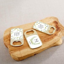 Personalized Gold Bottle Opener - Botanical Garden(24 Pcs)  - $75.99