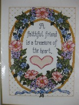 A Faithful Friend Sealed Bucilla Counted Cross Stitch Kit Joan Elliott 9x12 - $14.97