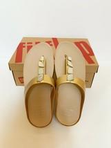 NIB FitFlop Fino ShellStone Toe Thong Sandal Size US 08 - $69.29