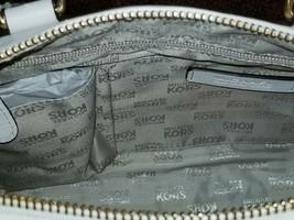 Michael Kors Margo Rose Gold Vanilla Leather Satchel Crossbody Bagnwt - $219.99