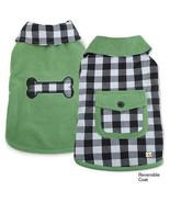 M. Isaac Mizrahi Gingham Reversible Coats Dogs Jacket Pet Coat Dog Desig... - $16.99+