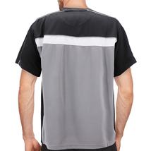Men's Lightweight Work Out Gym Knit Shirt Outdoor Fitness Sports Jersey T-Shirt image 12