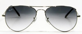 Ray Ban 3025 003/32 Aviator Silver Gradient Sunglasses 58mm New and Auth... - $98.95