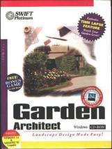Garden Architect CD-ROM for Windows - NEW Sealed BOX - $6.98