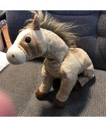 Ty Beanie Buddies Tan With Gold Speckles HOrse FILLY CUTE - $5.26