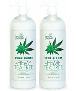 (Pack of 2) Natural Therapy Hemp & Tea Tree Nourish Protect Conditioner ... - $30.68