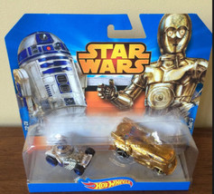 Hot Wheels Star Wars - C-3PO And R2-D2 Cars - Original Nib - $3.39
